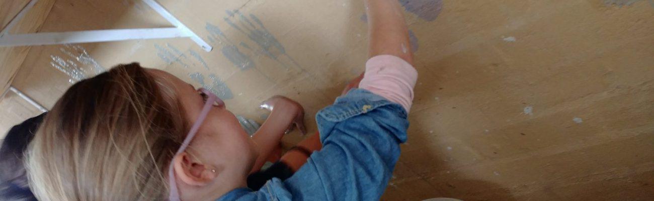 Slip casting hand prints