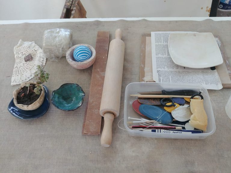 Ceramic and clay tool kit