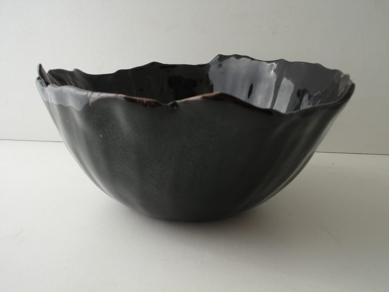 Black Bowl by Amy